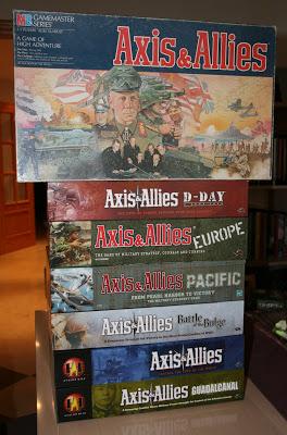 Mi colección de Axis & Allies