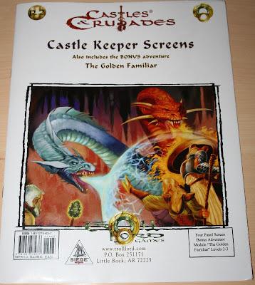 Pantalla del Castle Keeper para Castles & Crusades