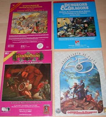 Cuatro ediciones para una aventura