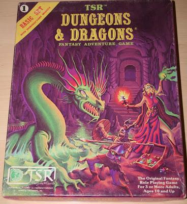 Dungeons & Dragons Basic Set  (edición 1980-81)