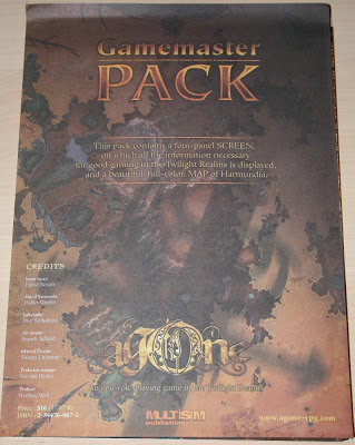 Gamemaster pack para Agone RPG