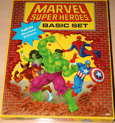 Marvel Super Heroes Basic Set, Revised Edition (1991)