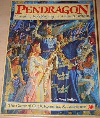 King Arthur Pendragon RPG (edición Chaosium, 1985)