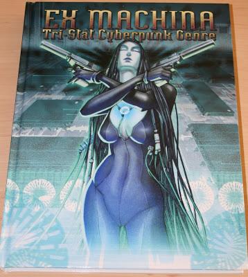 Ex-Machina: Tri-Stat Cyberpunk Genre