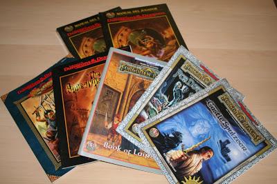 Nuevo lote de aventuras para AD&D