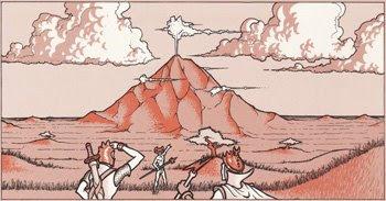 De camino a la Montaña del Penacho Blanco
