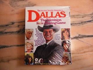 Dallas, The television Role-Playing Game