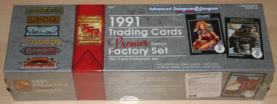 AD&D Trading Cards Premier Factory Set 1991