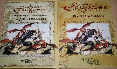 Castles & Crusades Players Handbook tercera edición