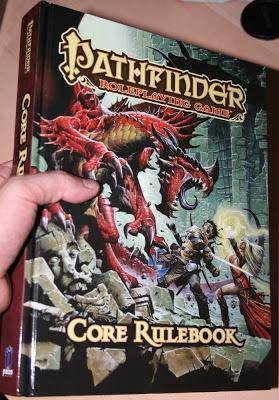 Ya llegó Pathfinder RPG