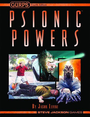 GURPS 4th Edition: Psionic Powers