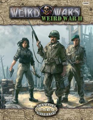 Savage Worlds RPG: Weird Wars