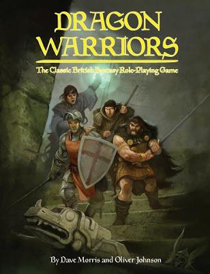 Hoja de personaje en español para Dragon Warriors