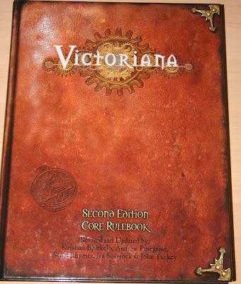 Victoriana Second Edition Core Rulebook