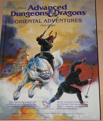 AD&D 1ª Edición, Oriental Adventures