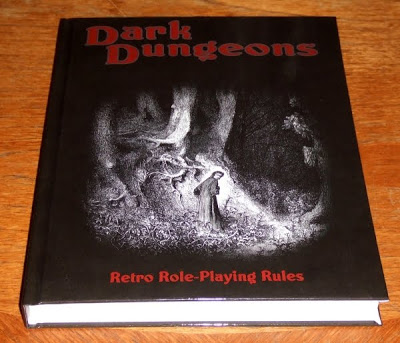 Dark Dungeons Retro-Clon Role Playing Game