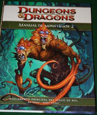 D&D cuarta edición: Manual de Monstruos 2