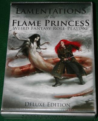 Reseña fotográfica de Lamentations of the Flame Princess, primera parte