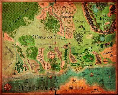 Mapa envejecido