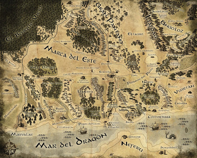Mapa definitivo de la Marca del Este