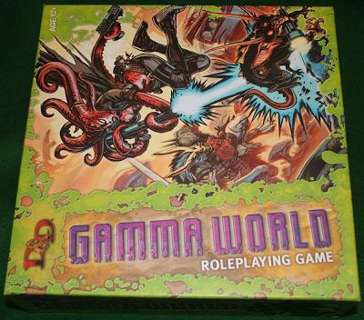 Reseña nuevo Gamma World, primera parte