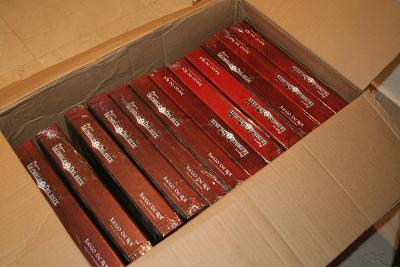 Nuestras cajas de la segunda tirada