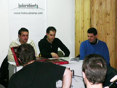 Primera reseña sobre la presentación en Madrid