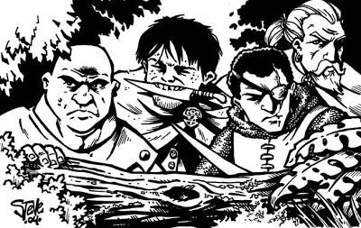 Elfos y bandidos