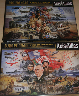 Axis & Allies Europe y Asia juntos