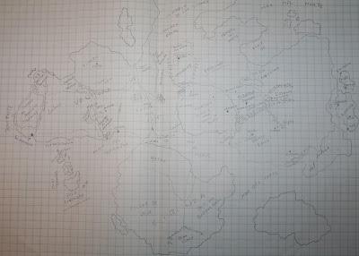 Diario de diseño: el mapa…