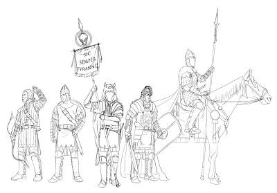 Diario de diseño: Más del Ejército del Este