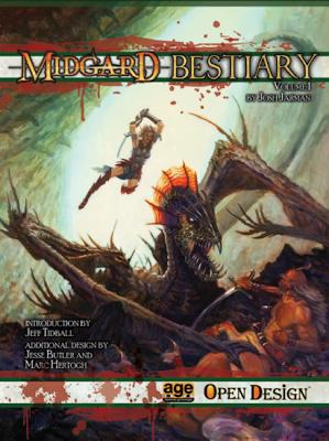 Midgard Bestiary Vol. 1 (AGE System)