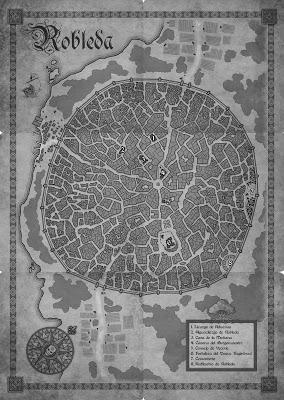 Diario de diseño: mapa de Robleda