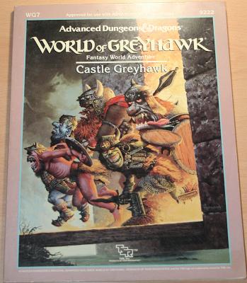 World of Greyhawk: Castle Greyhawk