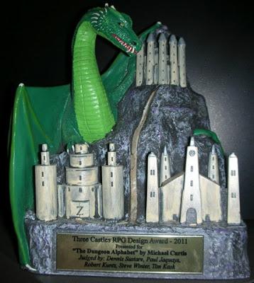 Three Castles Award 2012