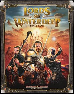 Lords of Waterdeep Board Game