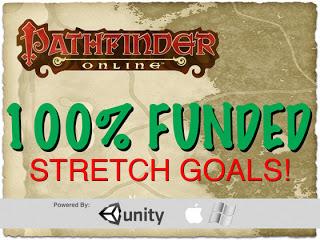 Pathfinder Online Funded