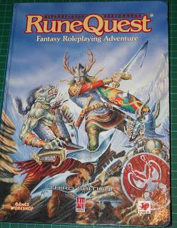 RuneQuest, tercera edición