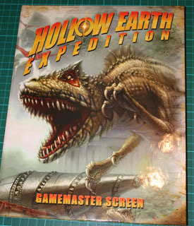 Hollow Earth Expedition: Gamemaster Screen