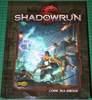 Reseña fotográfica de Shadowrun 5th edition