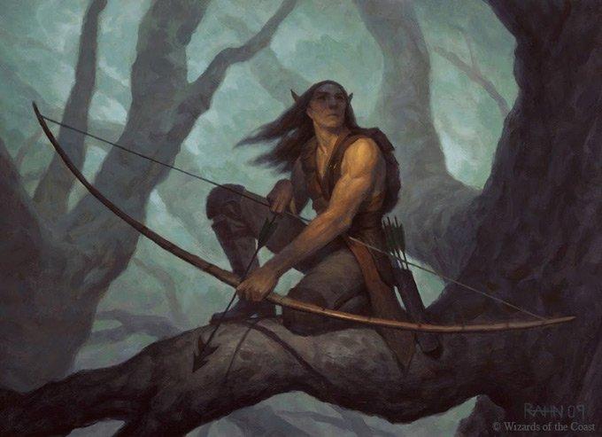 Fantasy HERO: Diario de Creación de Hechizos, Ojos de Halcón