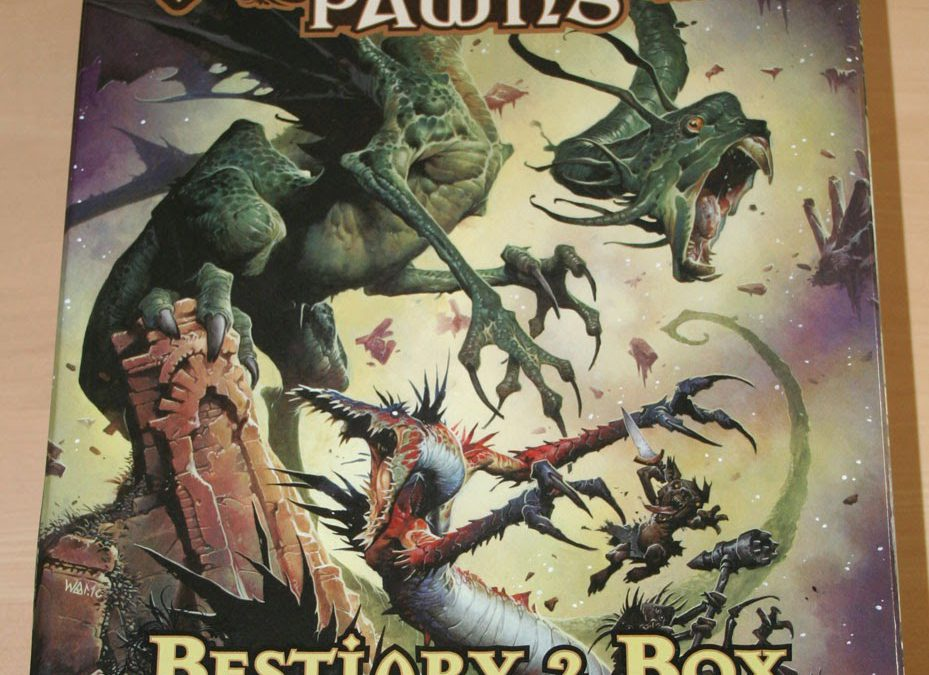 Pathfinder Pawns Bestiary 2 Box