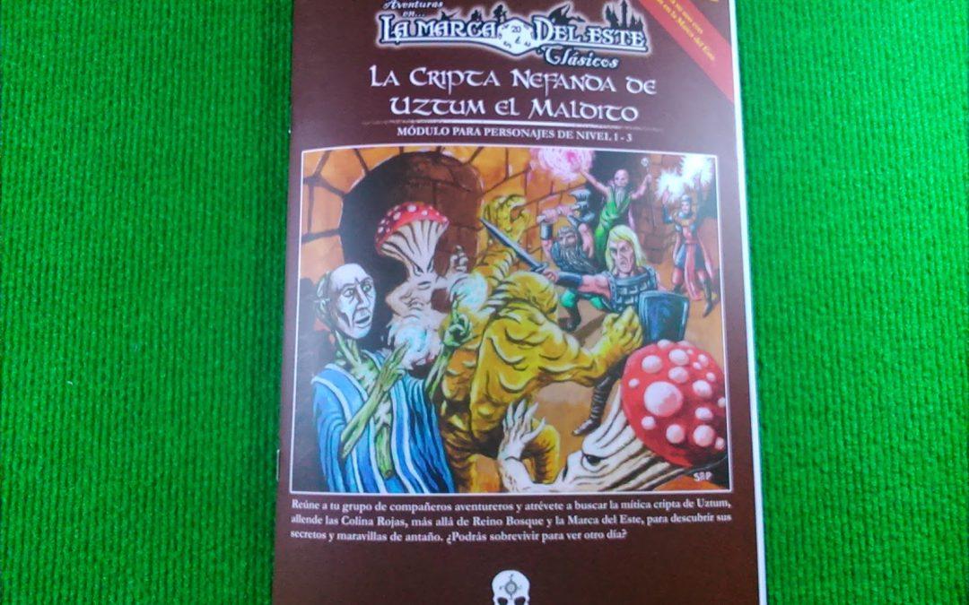 La Cripta Nefanda de Uztum el Maldito ya es una realidad