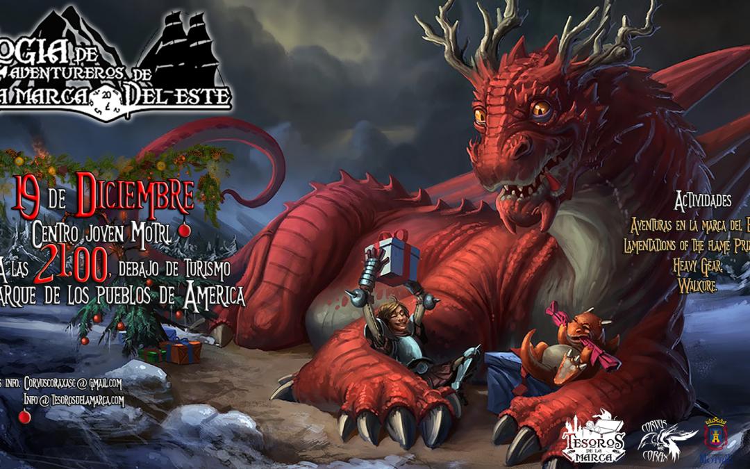 Logia de Aventureros de la Marca del Este – Diciembre 2014