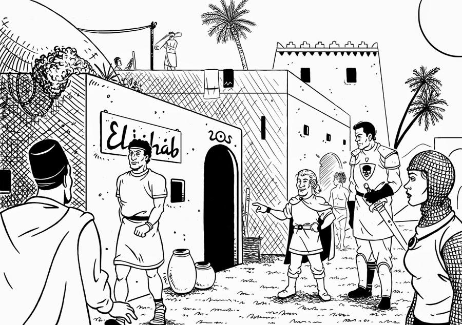La taberna de Eliahab