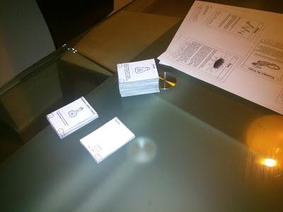 Juego de mesa – Reglas (casi) terminadas