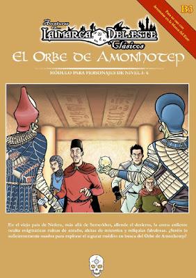 Primeras reseñas de El Orbe de Amonhotep.