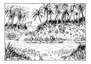 Primeras ilustraciones de La Ciudad Perdida de Garan