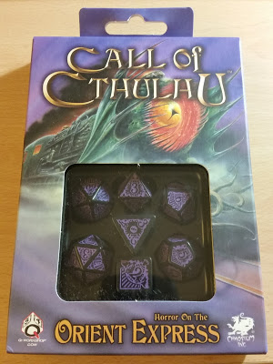 Dados Call of Cthulhu: Horror on the Orient Express