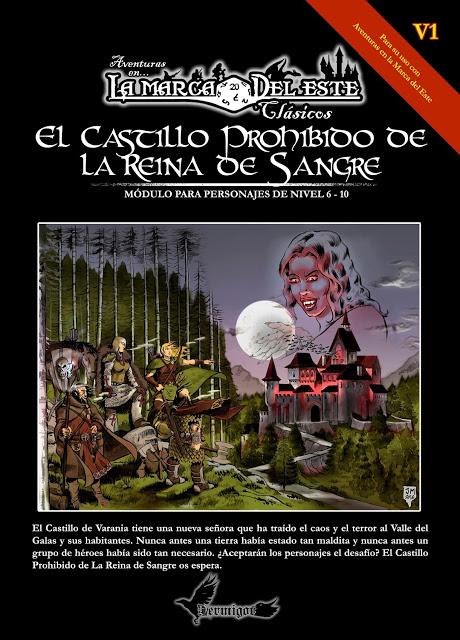 Portada de El Castillo Prohibido de la Reina de Sangre